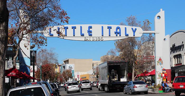Italian Restaurants In East Village San Diego